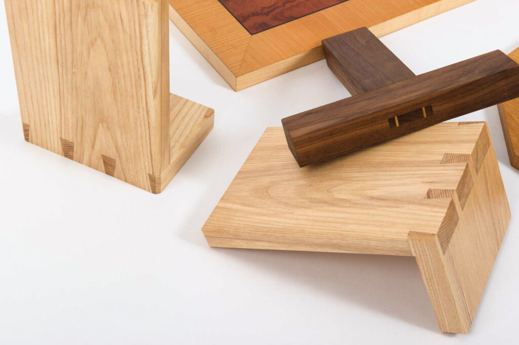 A SELECTION OF THE PROJECTS TACKLED BY STUDENTS ON ROWDEN ATELIER HAND TOOL WOODWORKING COURSES