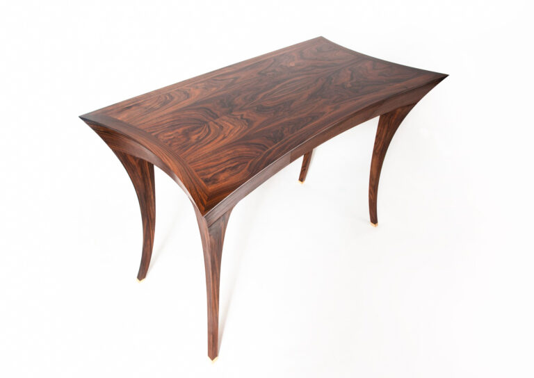 An award winning, student made desk from a woodworking course at Rowden Atelier